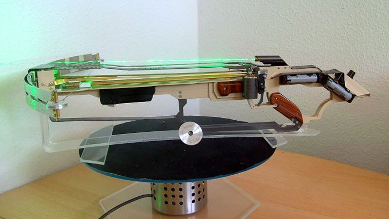 Who Cares About Slingshots When This Crossbow Fires Spinning Saw Blades?