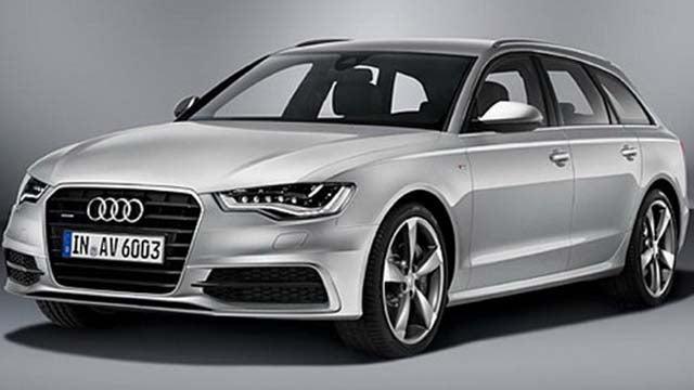 2012 Audi A6 Avant: Aluminum und Kinder