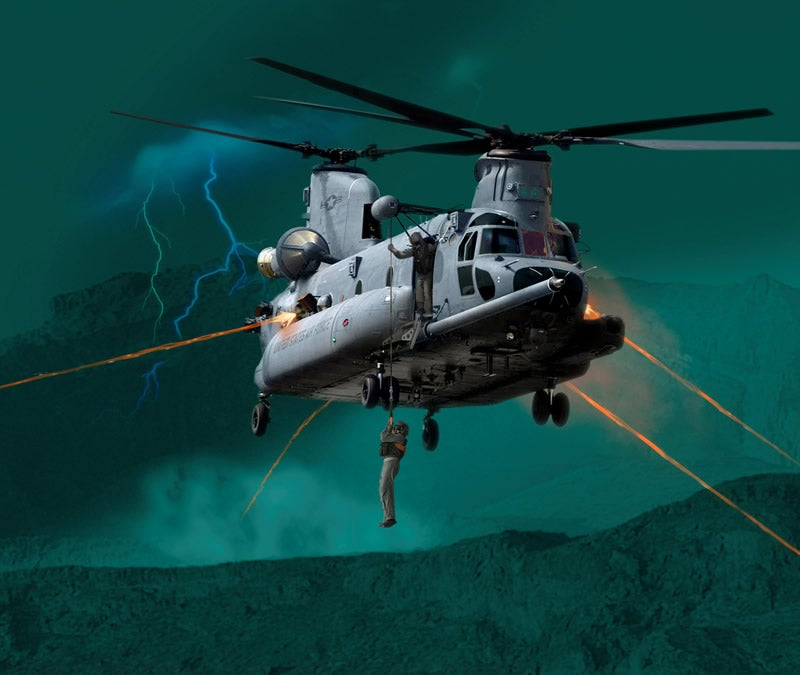S-92 Is The Next Marine One, What About Combat Search & Rescue?