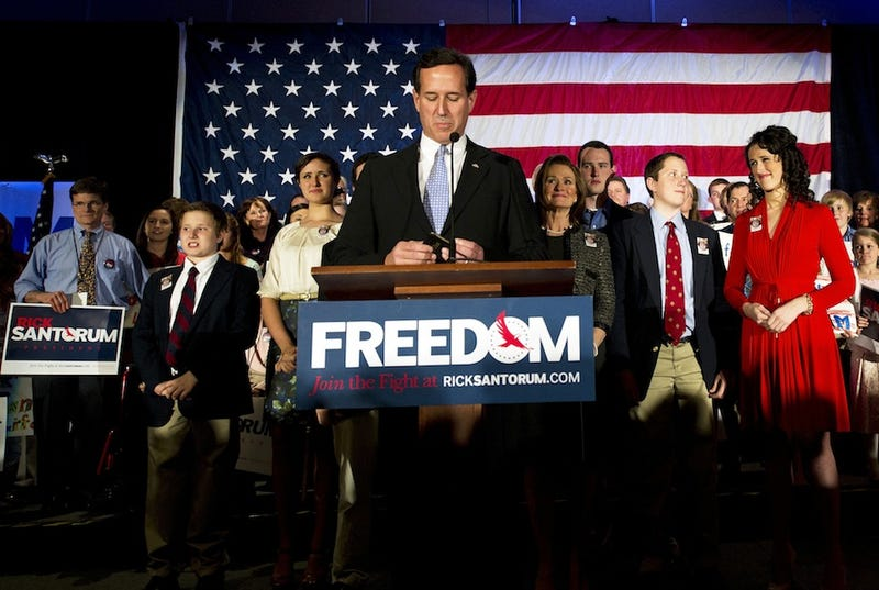Rick Santorum Drops Out of Race