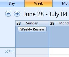 Re-Establish the Weekly Review Habit