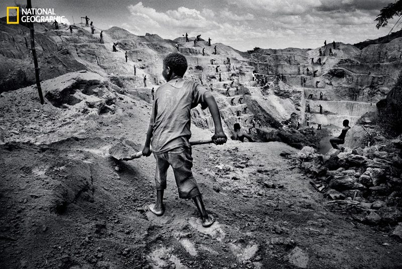 """The Congo Mines That Supply """"Conflict Minerals"""" For the World's Gadgets"""