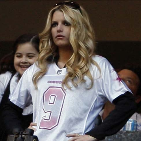 Jessica Simpson Is Webcam Stripping For Tony Romo During Training Camp
