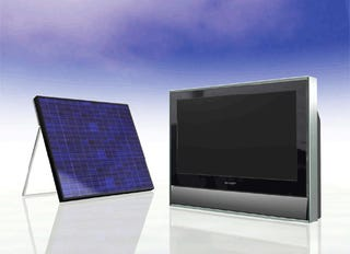 Solar-Powered LCD Brings TV to Anywhere the Sun Shines