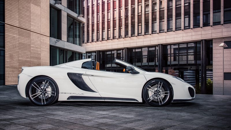 This Company Will Ruin Your McLaren 12C Spider For Just $35,000