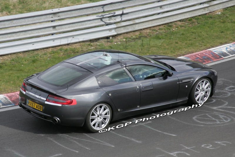 "First Official Aston Martin Rapide ""Image"" Leaks"