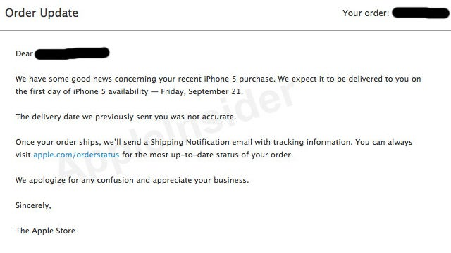 Good News: Your iPhone 5 Might Not Ship Late After All