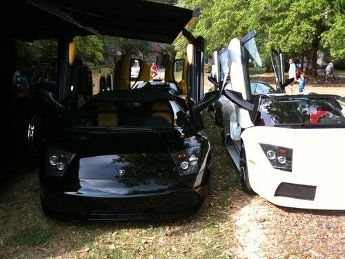 Particle Accelerator Lamborghinis