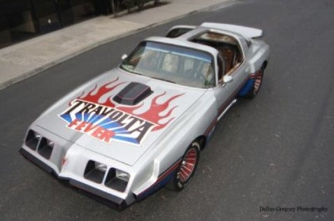 "Don't Touch the Hair: ""Travolta Fever"" Custom Trans Am on eBay"