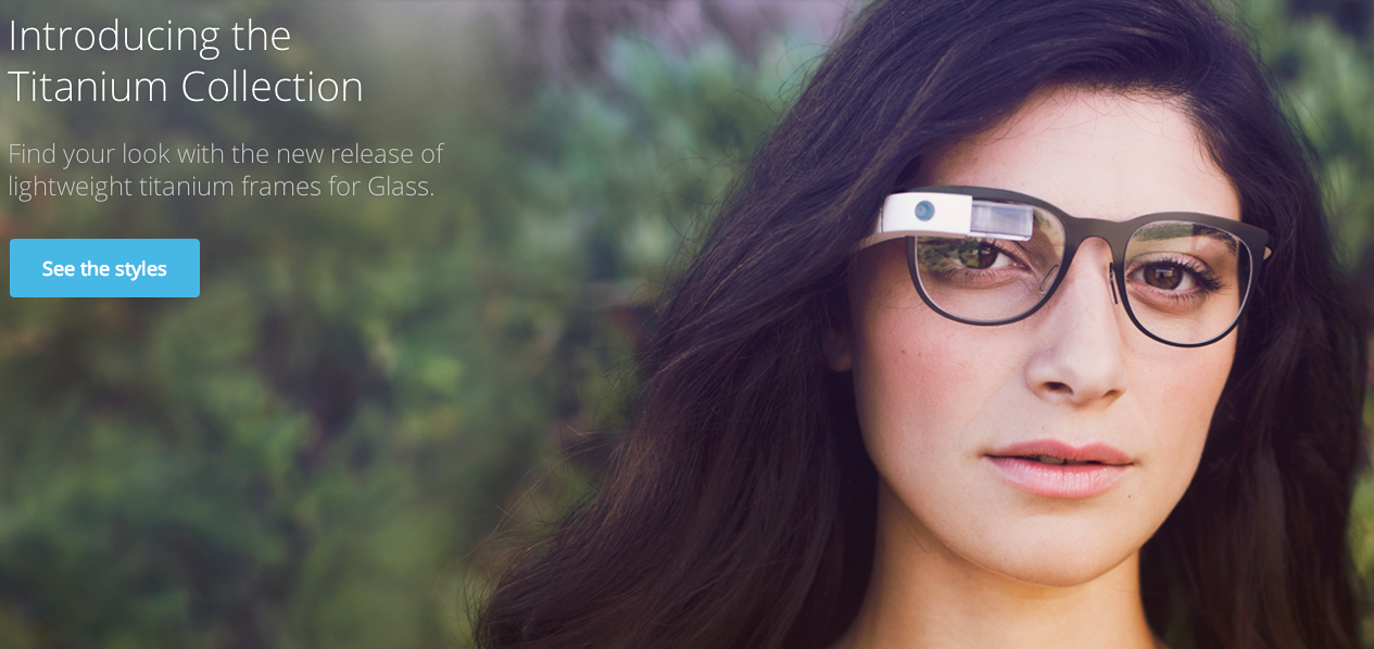"I Think There's a Face Computer On Your ""Chic"" New Google Glass Frames"