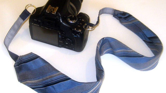Turn a Necktie Into a Camera Strap