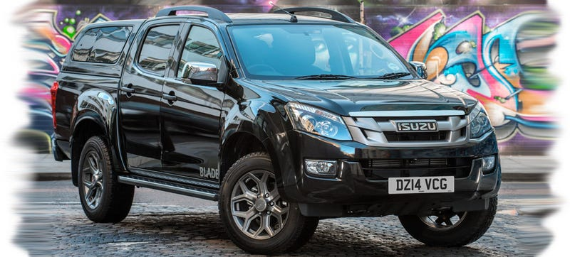 Isuzu D-Max Blade Is A Leather Jacket For Your Chevy Colorado