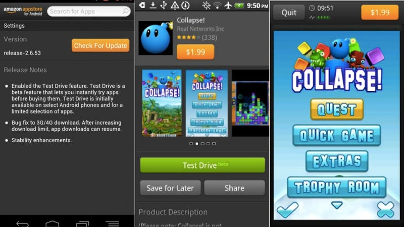 Amazon Appstore Now Lets You Try Out Apps Via the Cloud