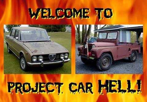 Project Car Hell: Alfa Romeo 2000 Berlina or Austin Gipsy?