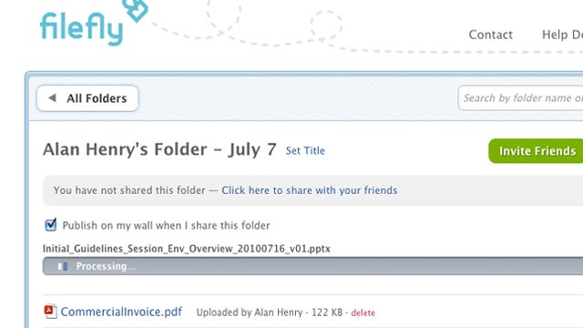 FileFly Brings Dropbox-Like File Sharing Directly to Facebook