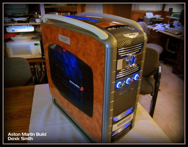 This Aston Martin PC Case is Gorgeous, and Derek Smith is the Best Friend Ever