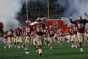 Florida State Prepares For Boston College... By Thumping Some Black Frat Boys?