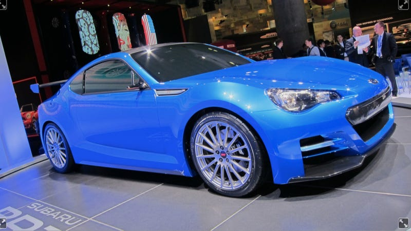 Subaru BRZ Concept STI: Almost the real thing