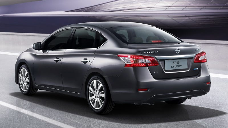 2013 Nissan Sentra Sylphy Gallery