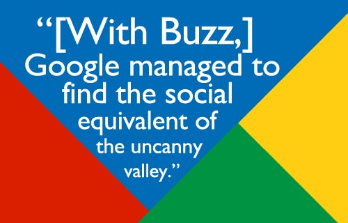 On Google Buzz's Awkward Launch
