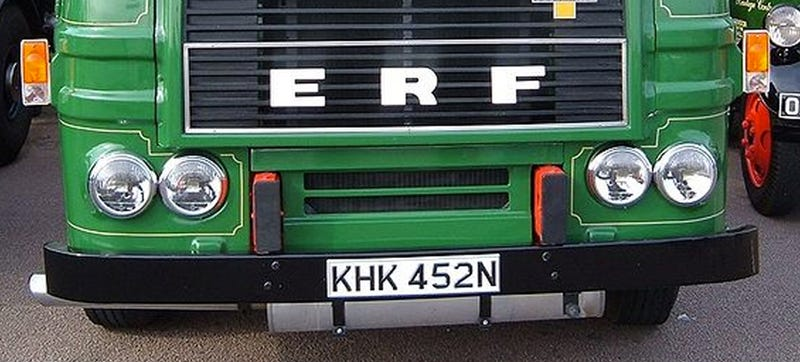 Is The Story Of ERF Trucks A Sad Allegory For Civilization?