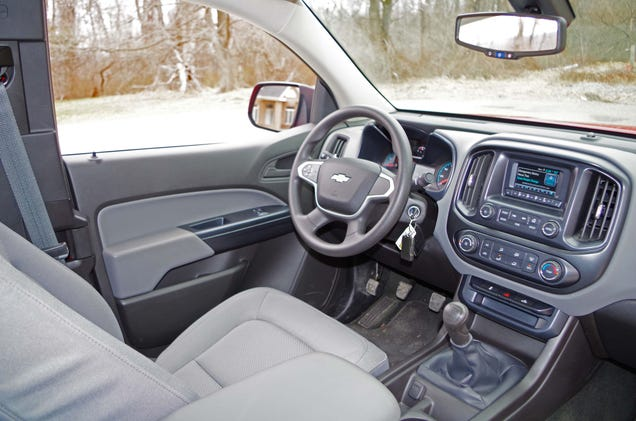Why You Don U0026 39 T Want The Manual Transmission 2015 Chevy Colorado