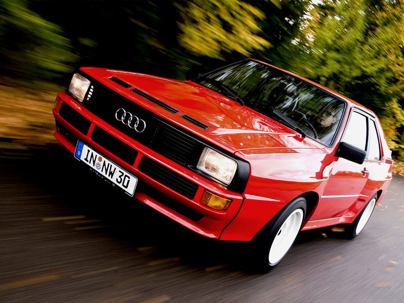 A Quattro with a Cinco under the hood