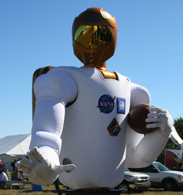 NASA robot and first whole sun picture — coming on Super Bowl SUNday