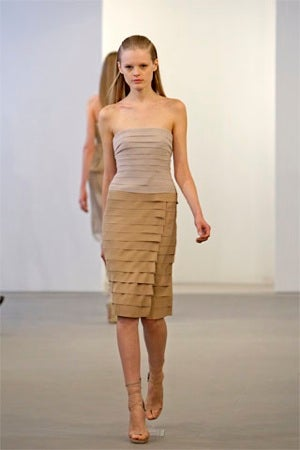 Calvin Klein Resort Collection: Heavy On The Beige But Easy On The Eyes