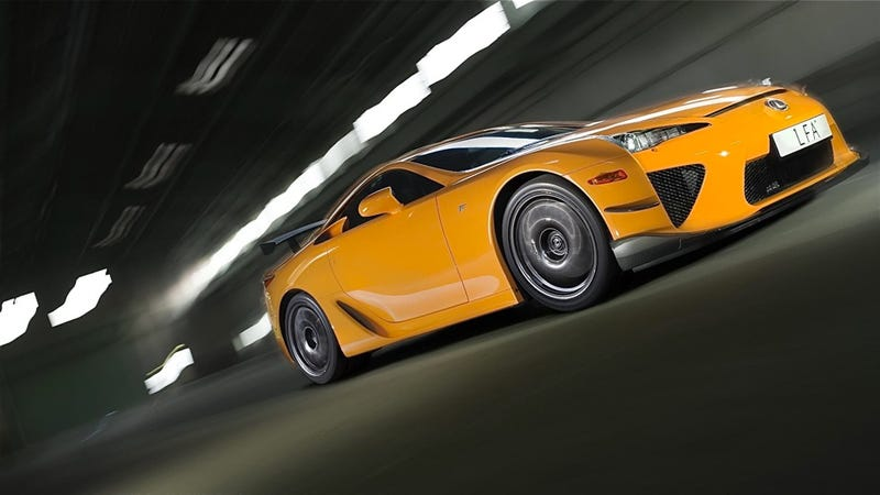 Lexus LFA Nurbürgring grows a wing, more power