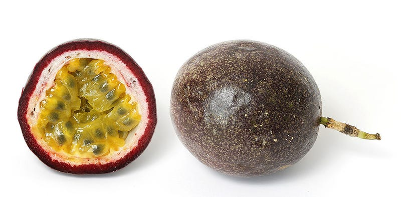 The inside of fruits and vegetables look like galaxies and alien guts