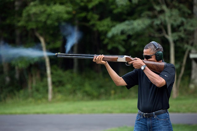 White House Releases Literal Smoking Gun to Prove Obama Uses Guns