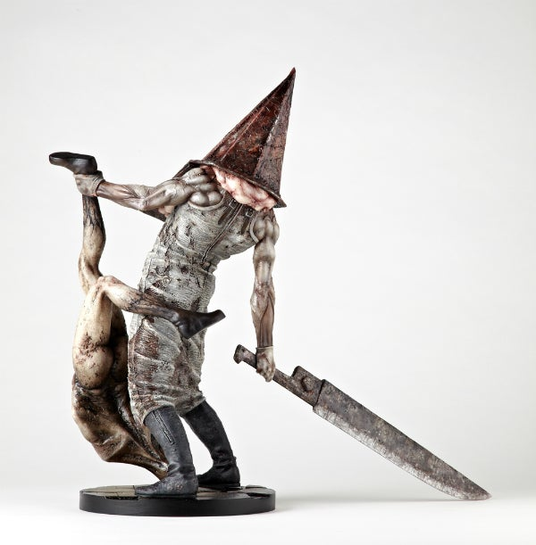This Pyramid Head Statue Is the Stuff of Nightmares