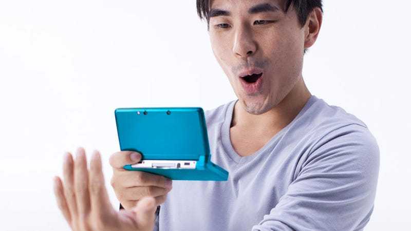 Some Lucky Bastards Are Playing The 3DS Right Now
