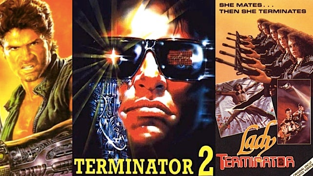 "10 Movies With The Word ""Terminator"" In The Title (That Are 100% Unrelated to The Terminator)"