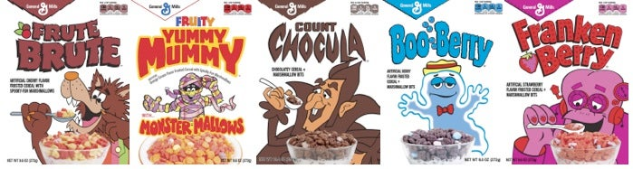Count Chocula and Frankenberry Are Back, Bitches
