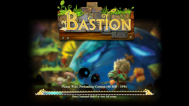 I've Played Bastion in Google's Chrome Web Browser and It's Amazing