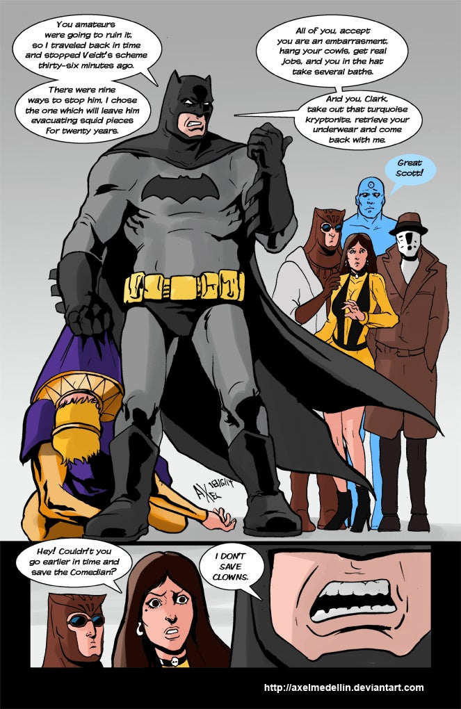 What If Batman Had Been In Watchmen?