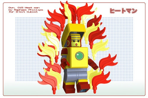 Mega Man's Lego Robot Masters