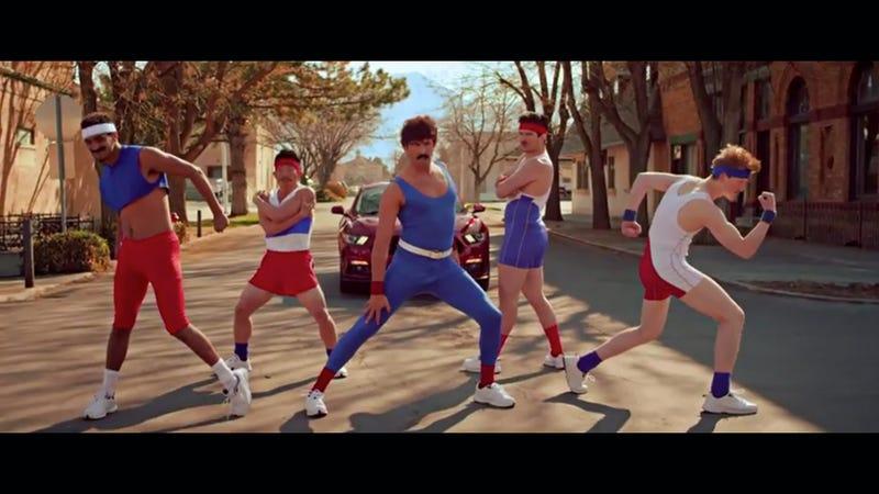 Zach Bowman on the kooky 2015 Mustang aerobics video