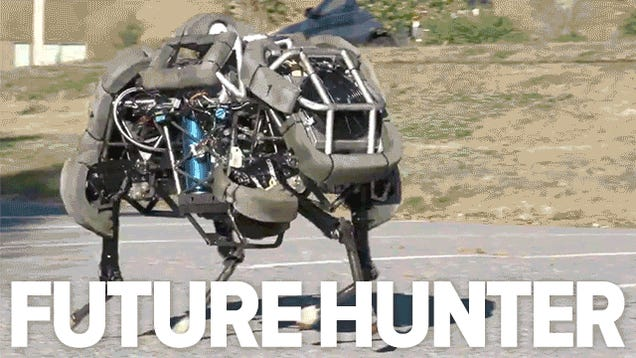 Terrifying Wildcat military robot can hunt down any human in 9 seconds