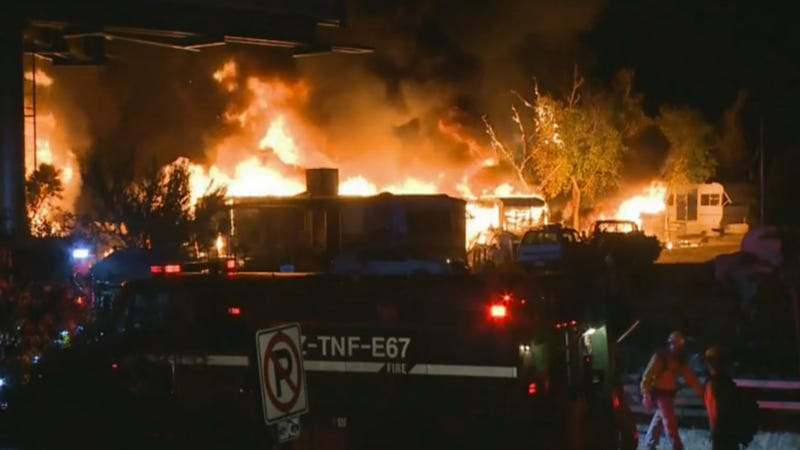 Arizona Fire Destroys 9,000 Motorcycles In One Night