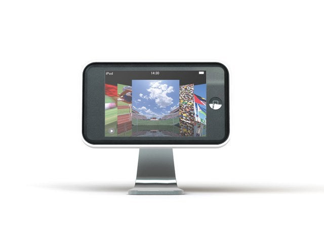 iClooly Stand Gives Your iPod Touch a Mini-iMac Look