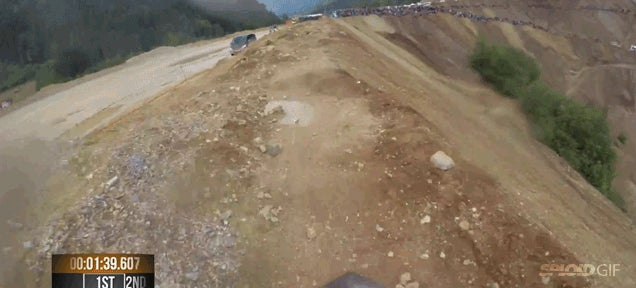 The world's toughest bike race is absolutely crazy