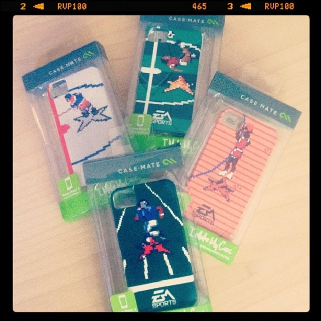 Would You Bling Out Your Smart Phone with Retro EA Sports Cases?