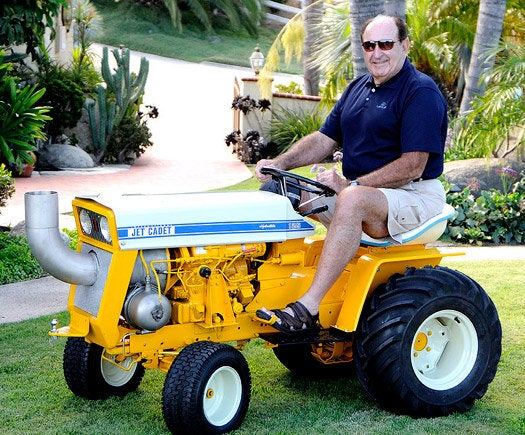 One Jet-Powered Lawn Tractor To Rule Them All