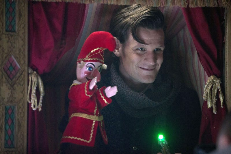 Doctor Who Christmas Special Promo Pictures