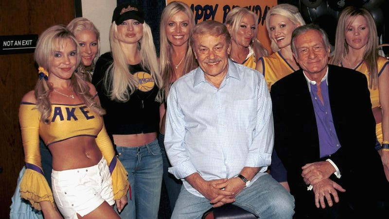 Hugh Hefner Remembers Jerry Buss