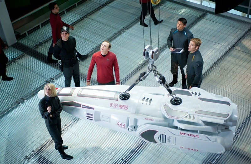 "Simon Pegg's Star Trek Reboot Theory: Is this the ""Mirror "" Crew?"