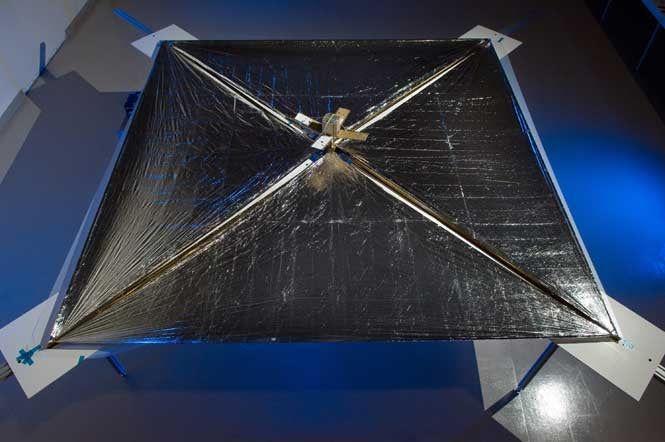 NASA's First Solar-Sail Powered Craft Set to Ride on a Stream of Photons Next Week